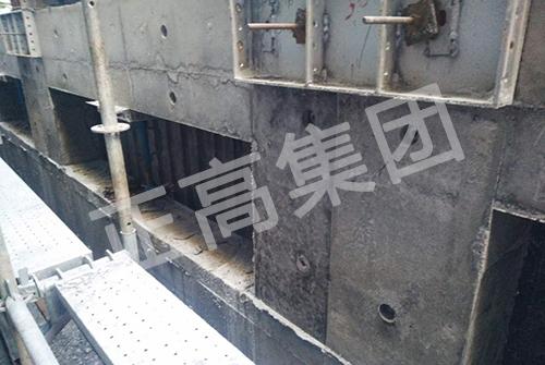 香港隔仔墙项目-铝模板生产加工