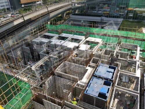 香港石门铝模板案例