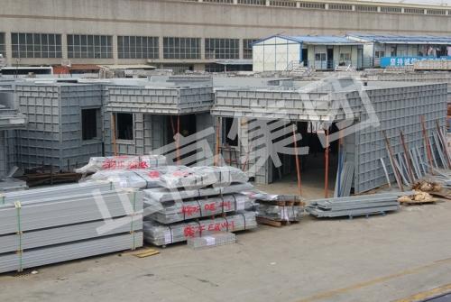 铝模板生产加工仓诸物流